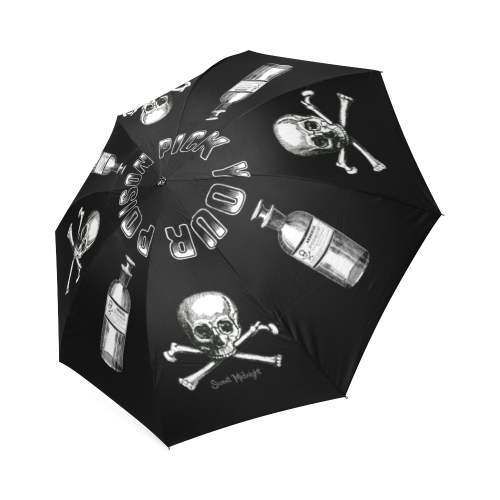 Pick Your Poison Umbrella Foldable Umbrella