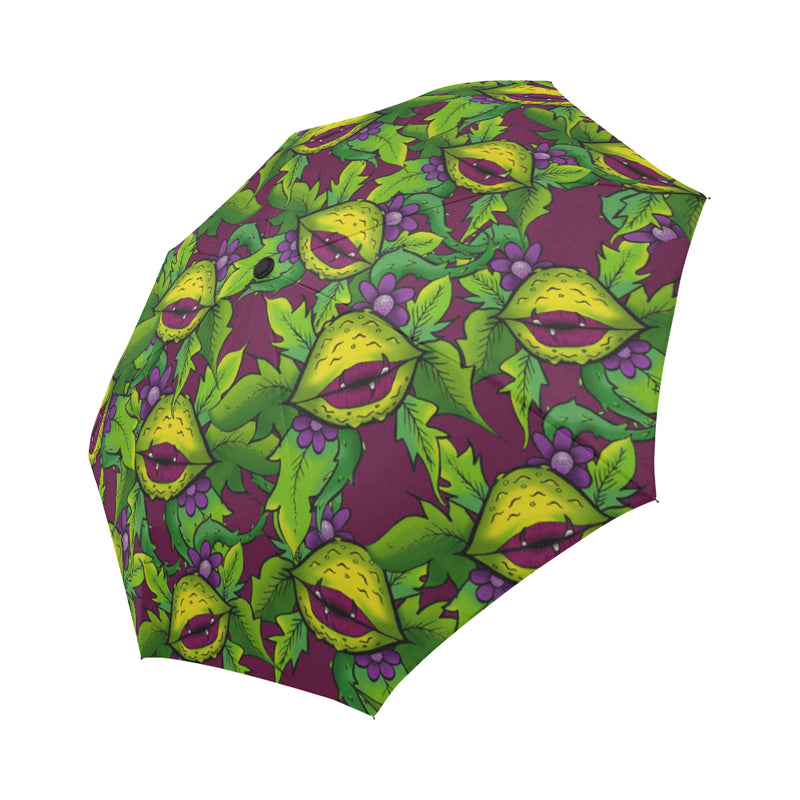 Feed Me Human Umbrella Auto-Foldable Umbrella