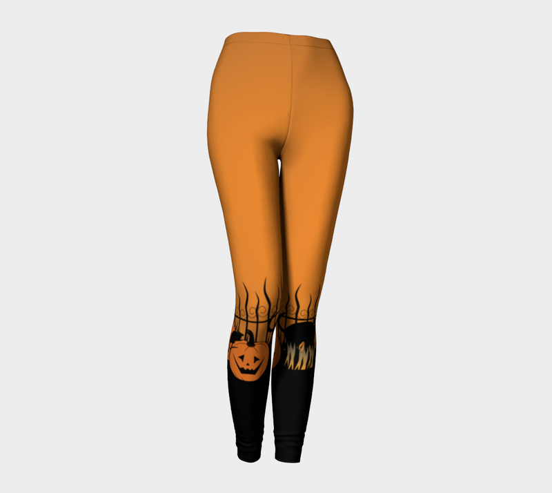 Trick or Treat in the Graveyard Leggings