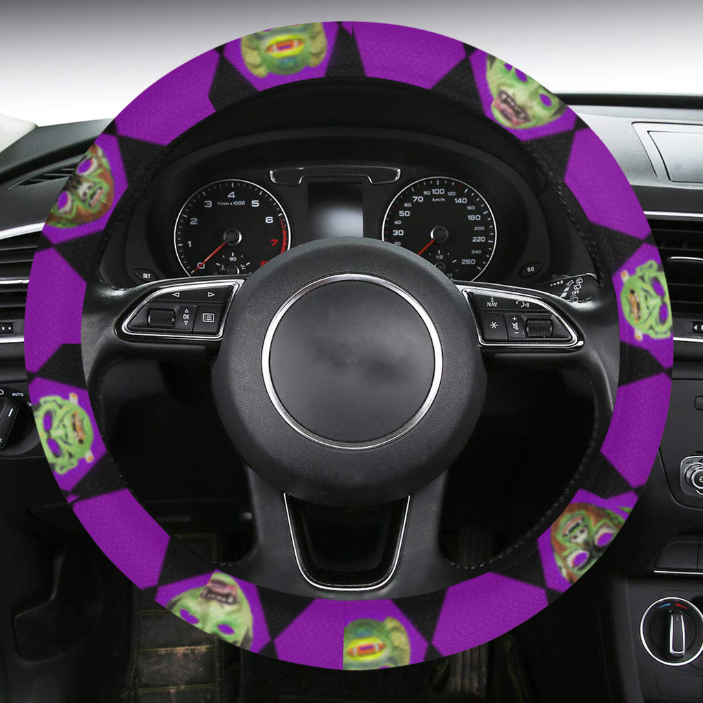 Monster Mask Wheel Cover