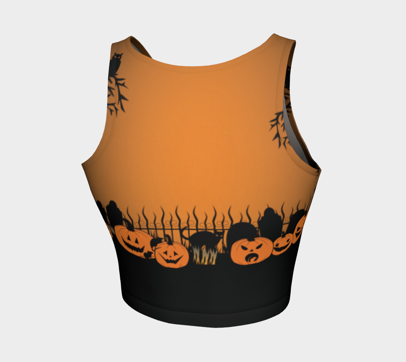 Trick or Treat in the Graveyard Sports Top