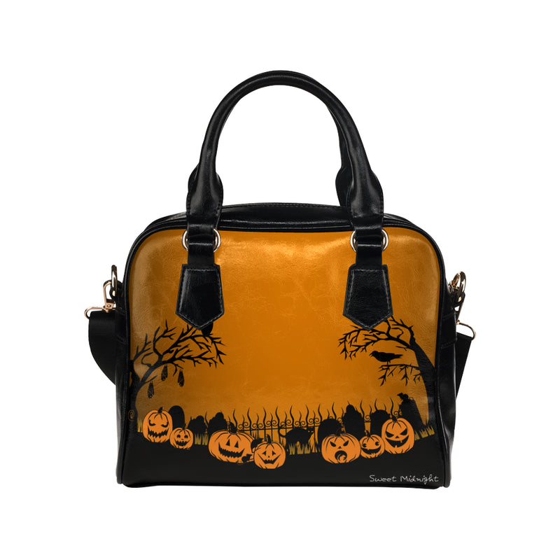 Trick or Treat in the Graveyard Haunted Handbag