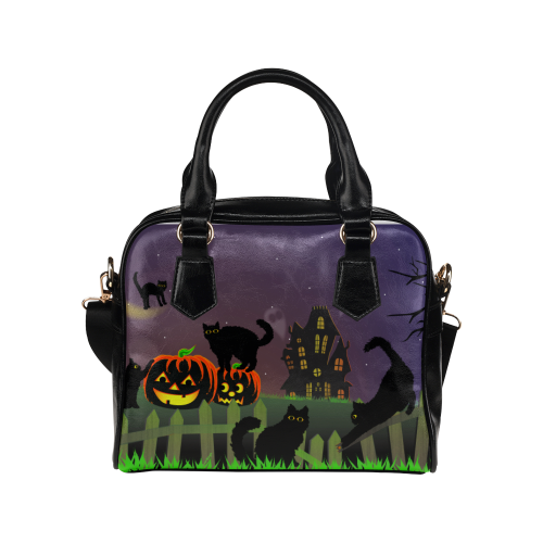 Mischief Cats Haunted Handbag