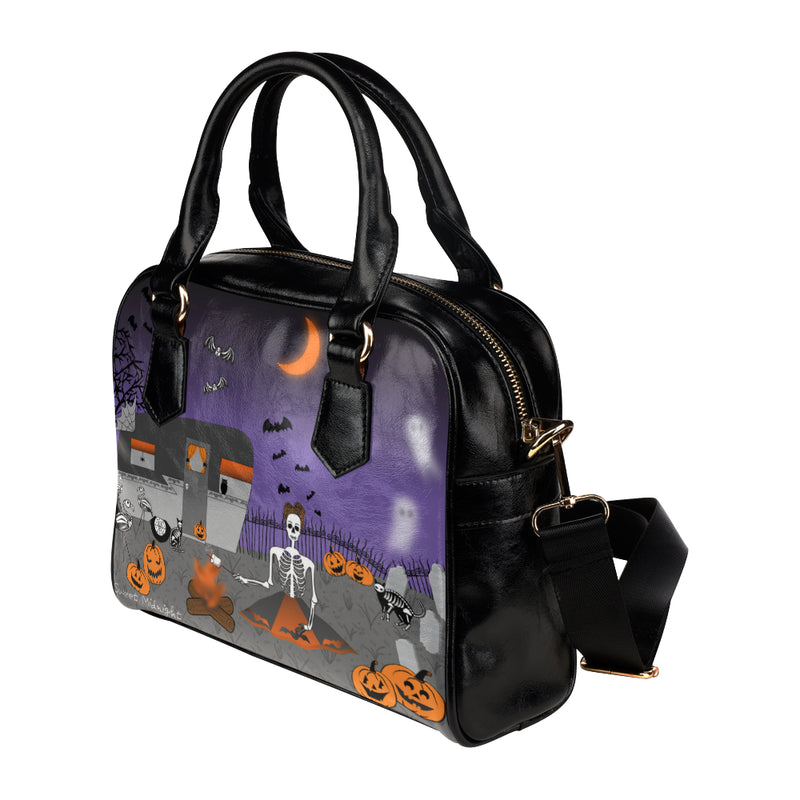 Glamp In the Cemetery Haunted Handbag