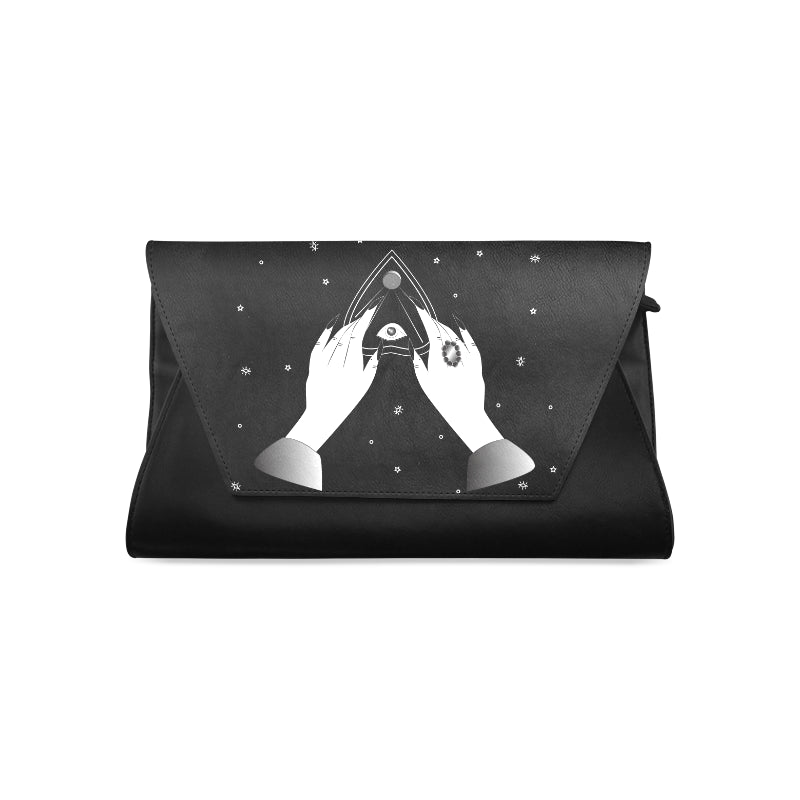 Spiritualism Campy Clutch Bag