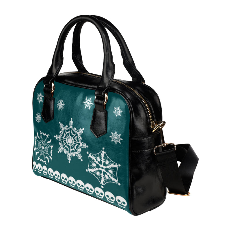 Scary Snowfall Haunted Handbag