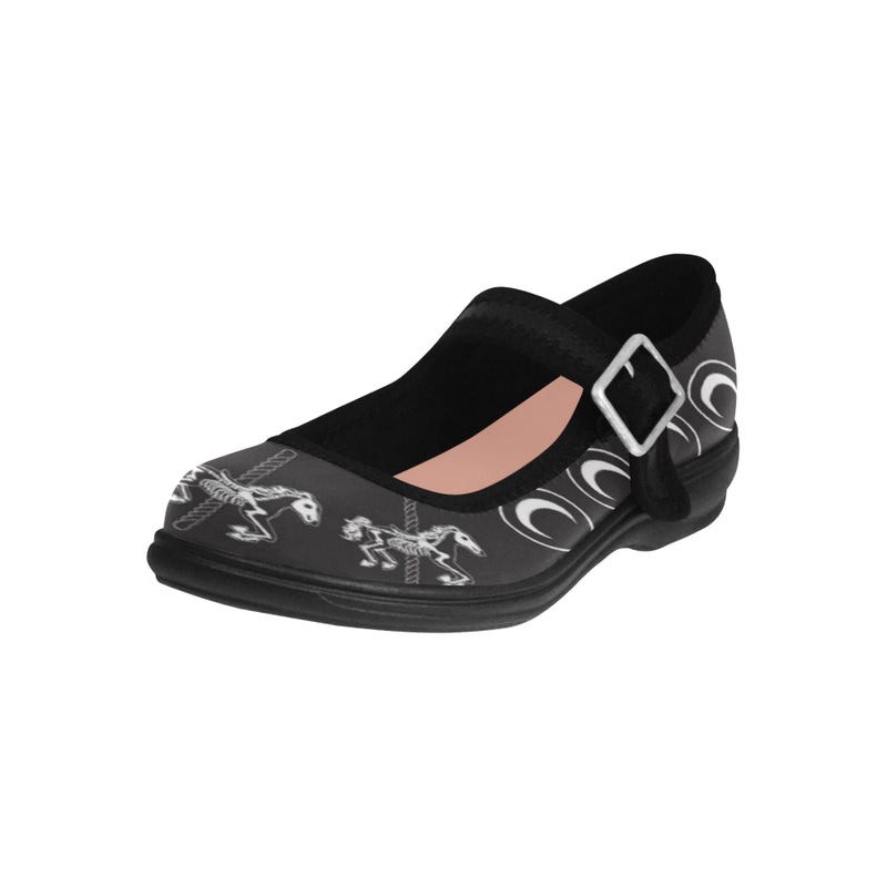 Midnight Carosoul Mary Jane Shoes