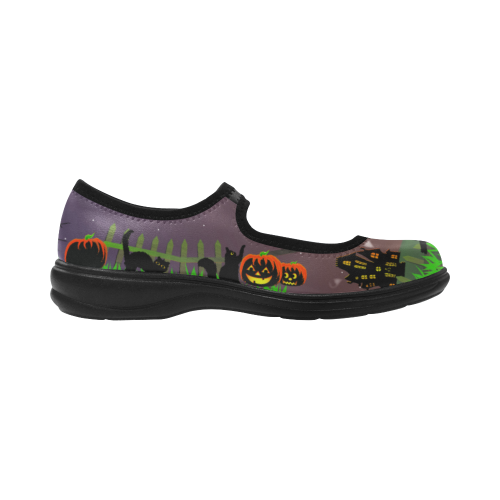Mischief Cat Mary Jane Shoes