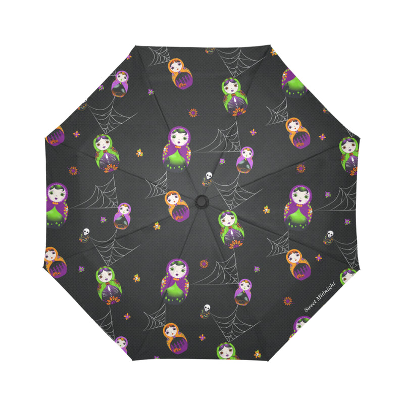 Nocturnal Nesting Dolls Umbrella