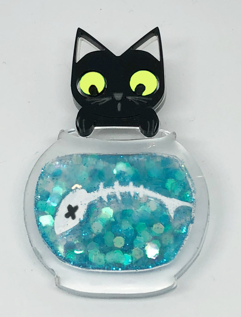 Bad Kitty Brooch