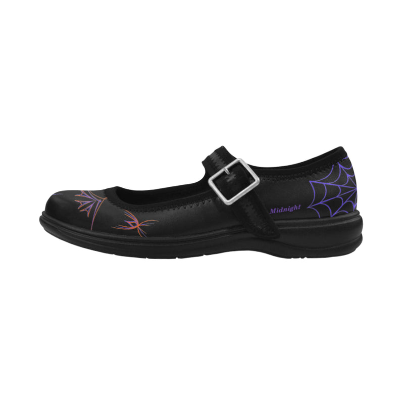 Haunted Hot Rod Mary Janes Virgo Instep Deep Mouth Shoes