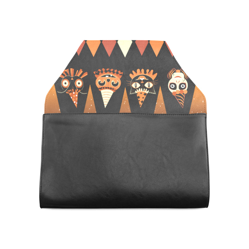 Halloween Party Animal Clutch Bag )
