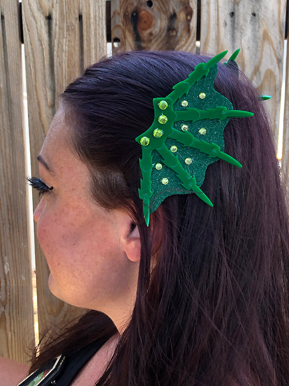 Tropical Creature Hair Clips