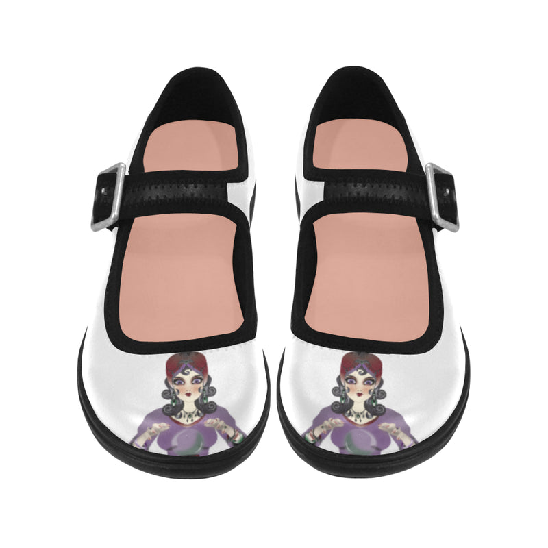Fortune Teller Mary Jane Shoes
