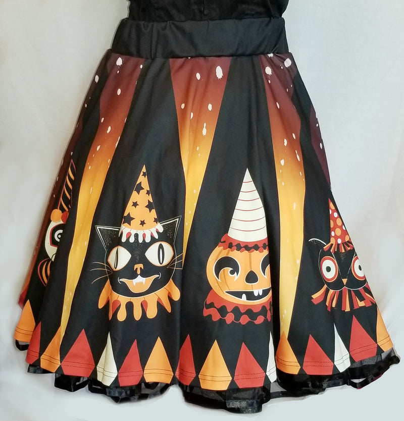 Halloween Party Animals Flirty Skirt