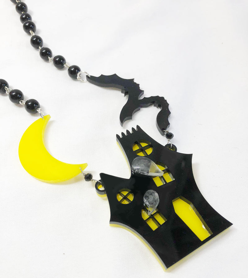 Haunted House Necklace