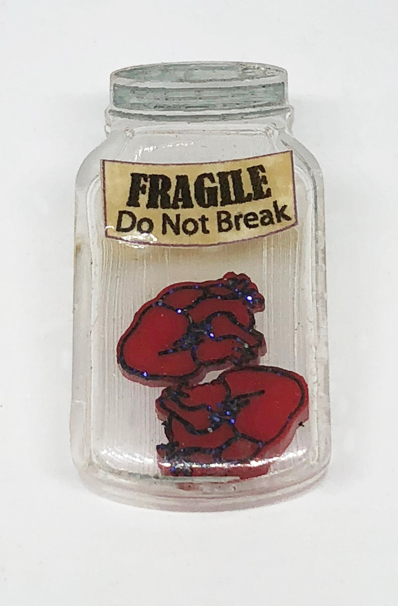 Jar of Hearts Brooch