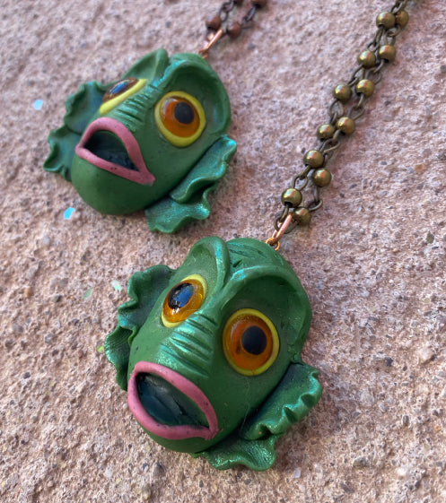 Swamp Creature Necklace