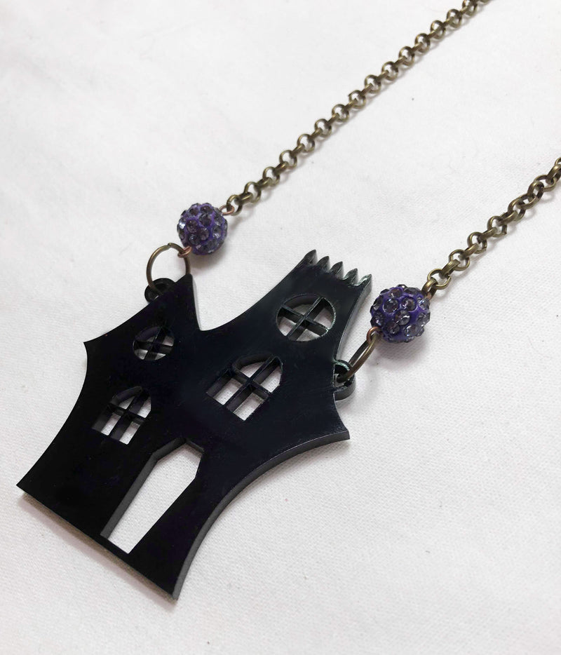 Lonely Haunted House Necklace