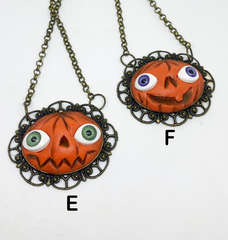 Reject Pumpkin Necklaces