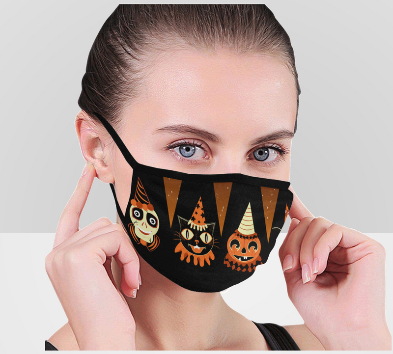 Halloween Party Animals Face Mask