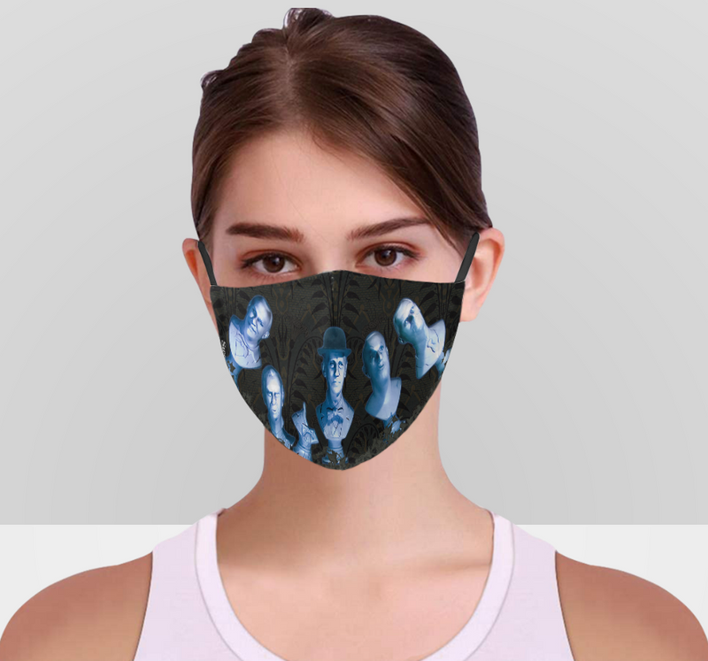 Singing Busts Face Mask With Adjustable Ear Strap