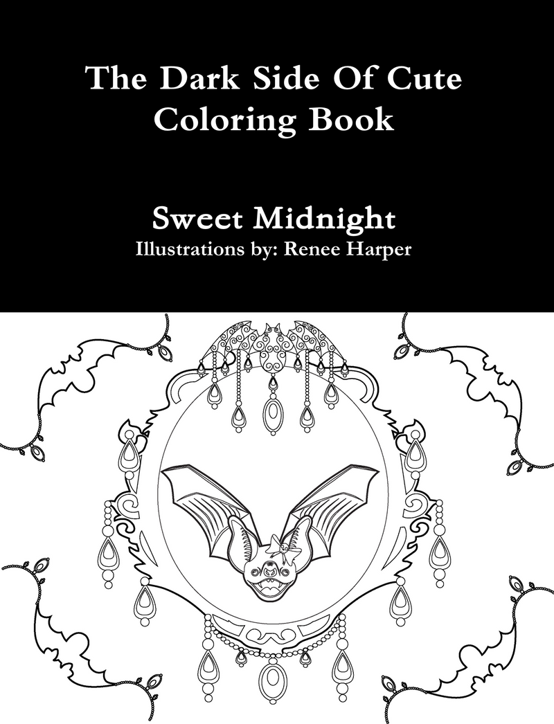 The Dark Side of Cute Coloring Book