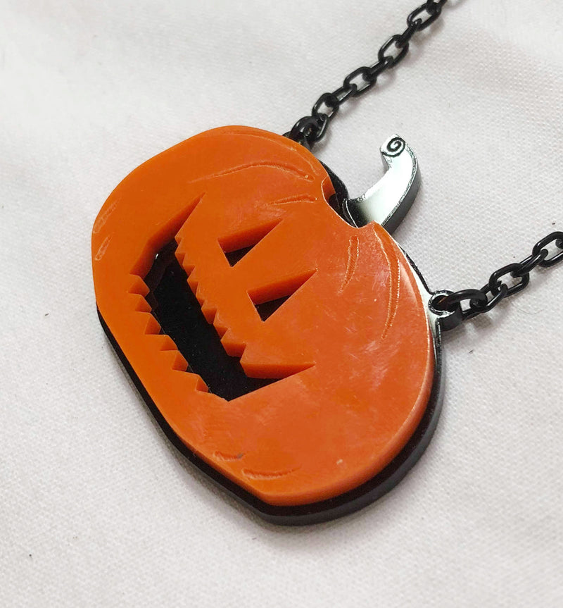 Smiley Jack Necklace