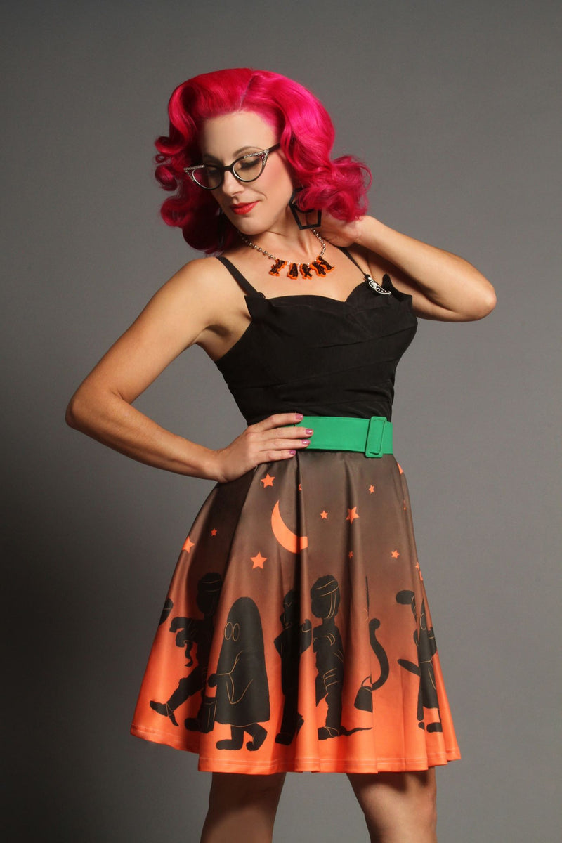 Trick or Treaters Flirty Skirt