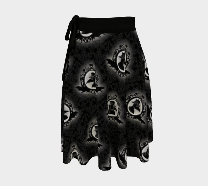 Plague Doctor Wrap Skirt