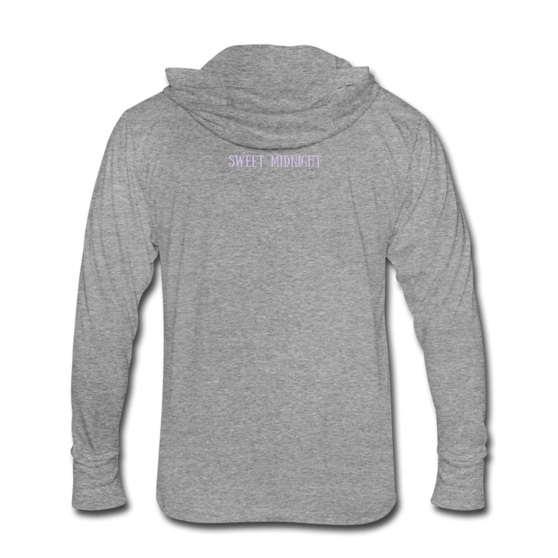 Unisex Tri-Blend Hoodie Shirt - heather gray