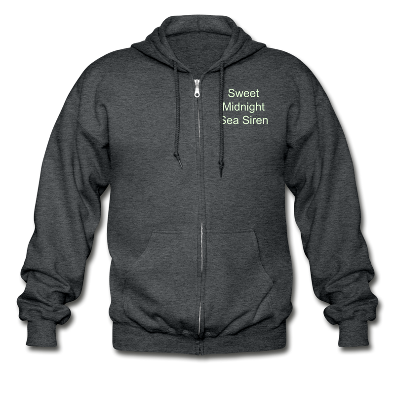 Sea Siren Gildan Heavy Blend Adult Zip Hoodie - deep heather