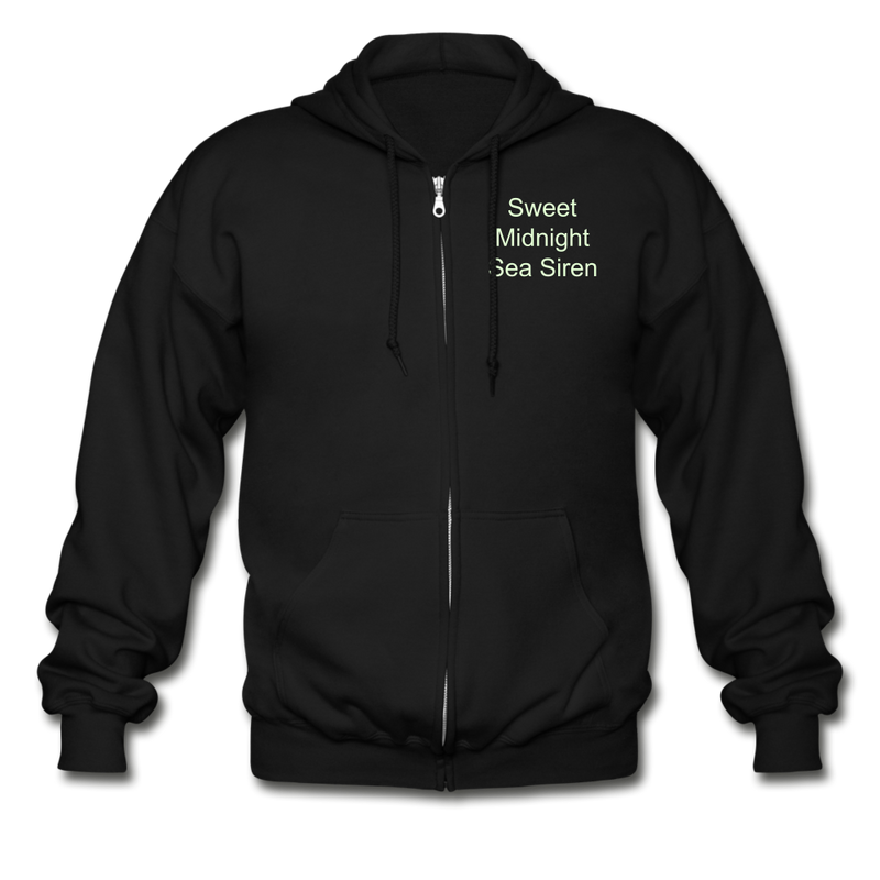 Sea Siren Gildan Heavy Blend Adult Zip Hoodie - black