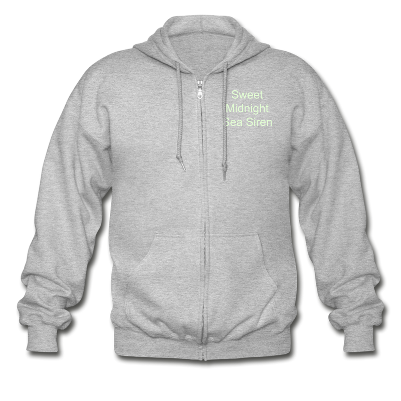 Sea Siren Gildan Heavy Blend Adult Zip Hoodie - heather gray