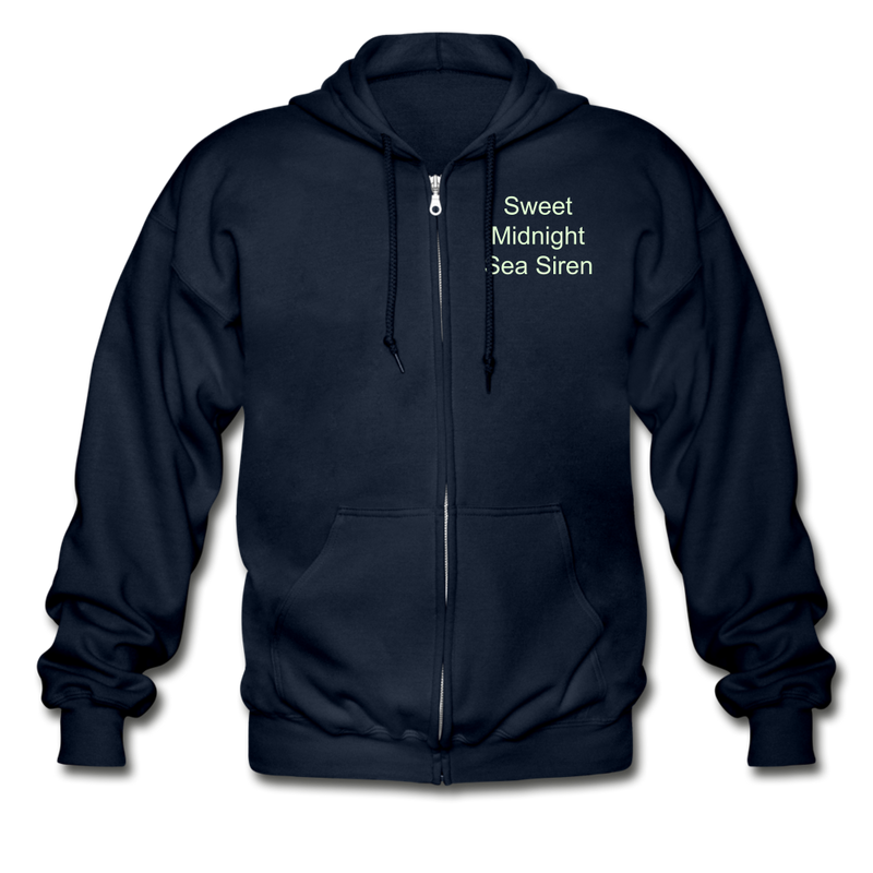 Sea Siren Gildan Heavy Blend Adult Zip Hoodie - navy