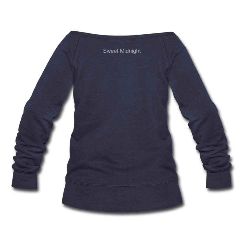 Swampland Finishing School Sweatshirt - melange navy