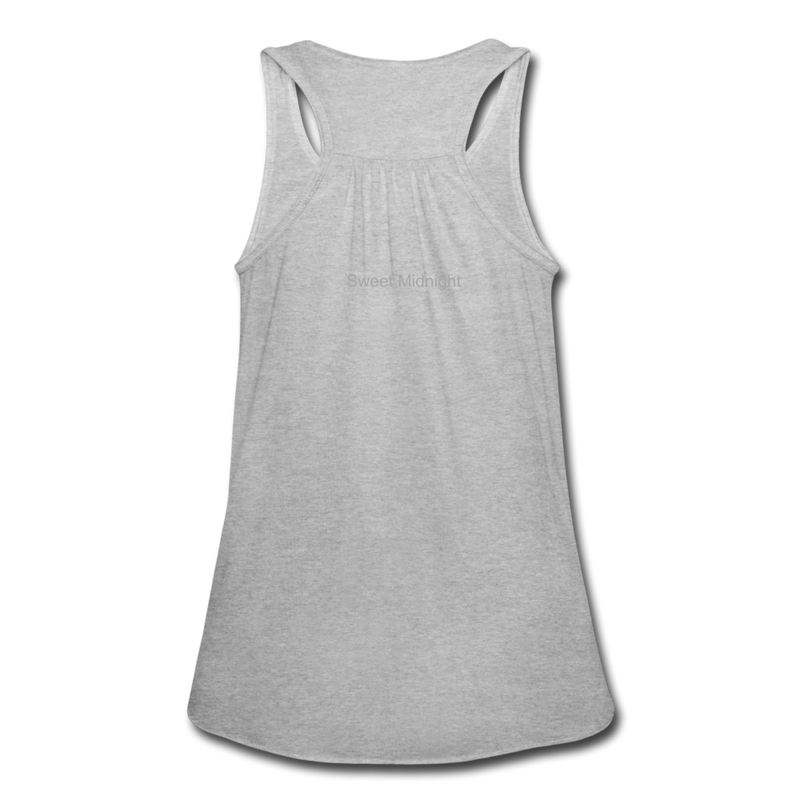 Swampland Finishing School Women's Flowy Tank Top by Bella - heather gray