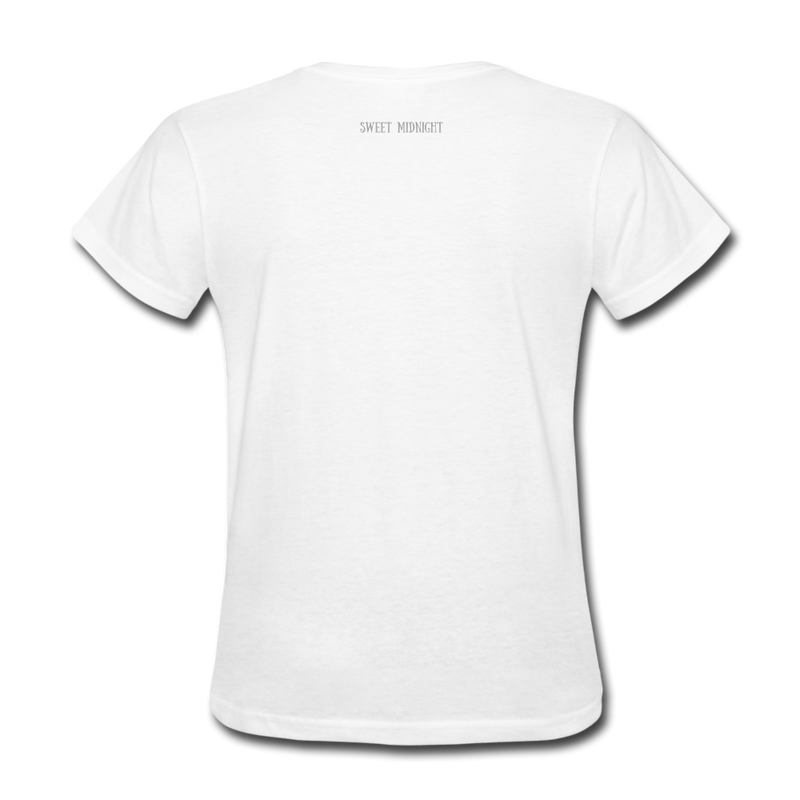 Mirror Mirror On The Wall Women's T-Shirt - white