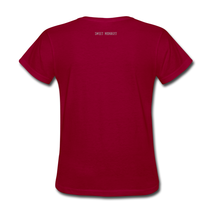 Mirror Mirror On The Wall Women's T-Shirt - dark red