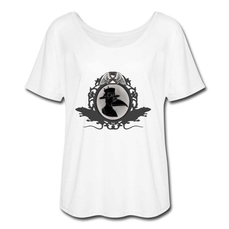 Women's Flowy T-Shirt - white