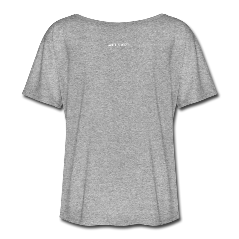 No Boob Sling Quarantine Team Women's Flowy T-Shirt - heather gray