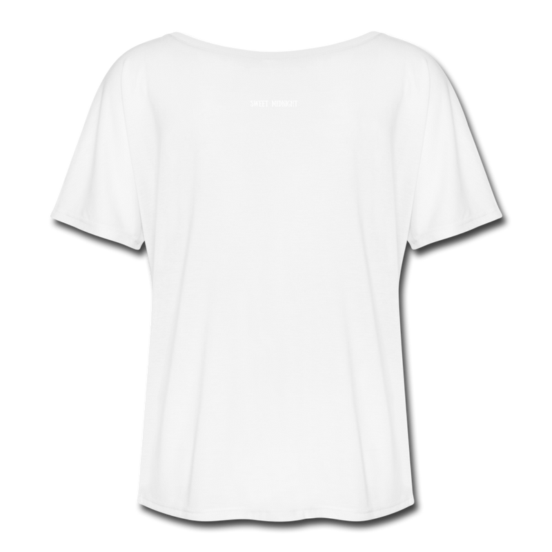 The Creature Reacher Women's Flowy T-Shirt - white