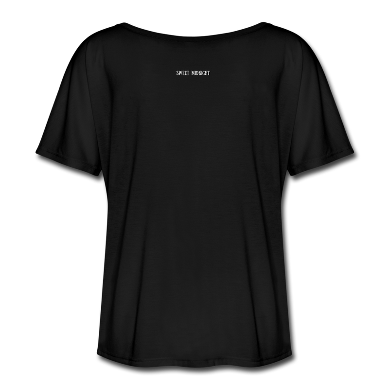 The Creature Reacher Women's Flowy T-Shirt - black