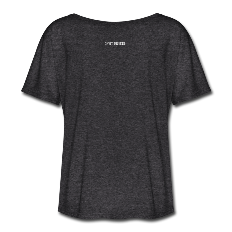 The Creature Reacher Women's Flowy T-Shirt - charcoal gray