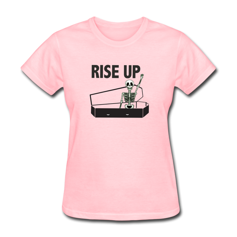 Rise Up Women's T-Shirt - pink