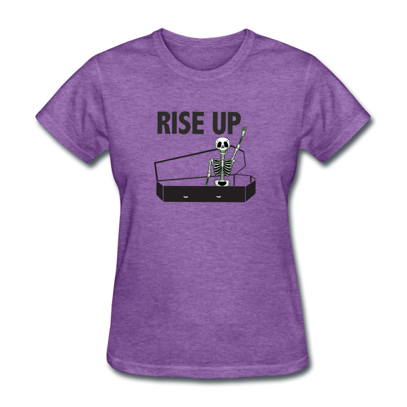 Rise Up Women's T-Shirt - purple heather