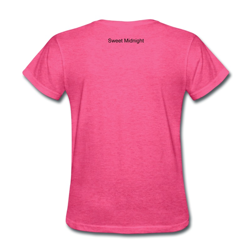 Rise Up Women's T-Shirt - heather pink