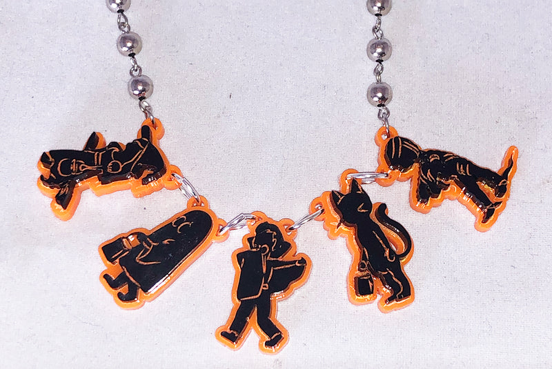 Trick Or Treaters Necklace