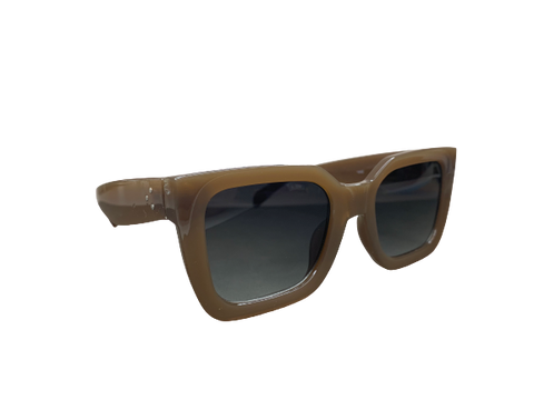 Karla Sunnies - Latte/Black Smoke