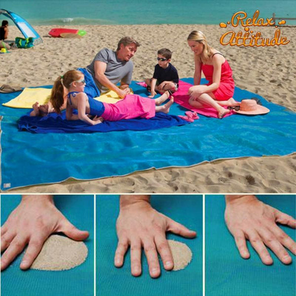 Easy Mat, Le Tapis de Plage Anti Sable